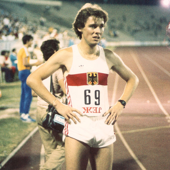 Sportler Peter Rauh