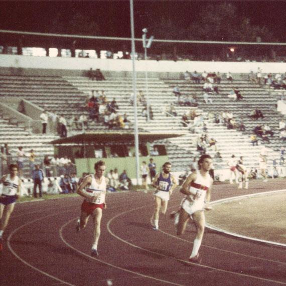 400m-Spezialist Peter Rauh